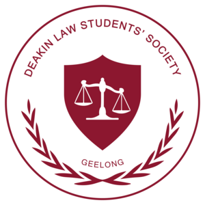 Deakin Law Students' Society Geelong Logo