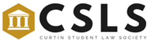 Curtin Student Law Society Logo